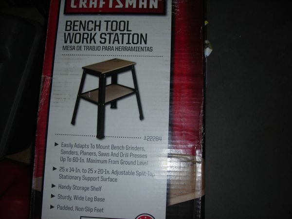 Craftsman Bench Tool Work Station Espotted