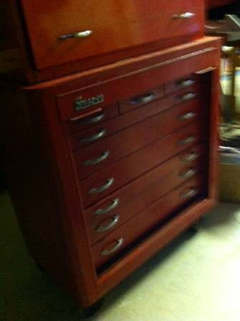 Snap On 9 Drawer Top Chest Espotted