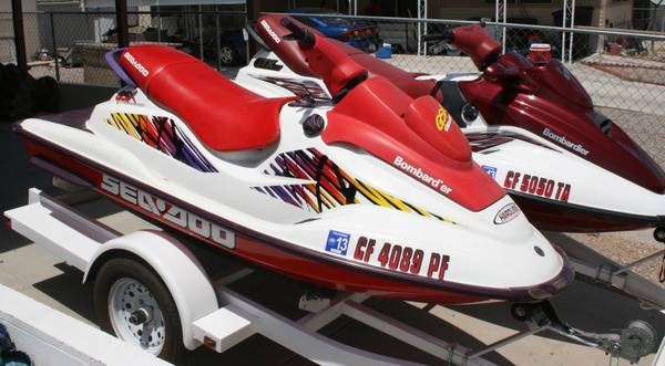 98 Seadoo GTX Limited 3 seater  97 Seadoo GSX 2 seater - $4200 (Needles, CA)