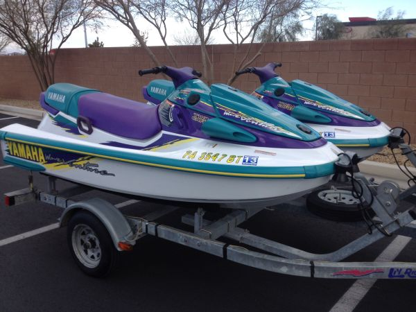 2 1996 Yamaha Wave Venture Jet Skis Low Hours - $3900 (Henderson, NV)
