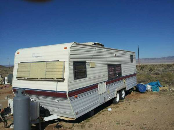 1989 Terry Resort travel trailer cold ac - $1850 (kingman)
