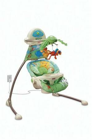 Fisher-Price Jungle themed swing - $50 (Golden valleyKingman)