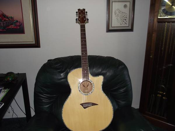Dean Exotica QSE Acoustic Electric guitar - $350 (LHC)