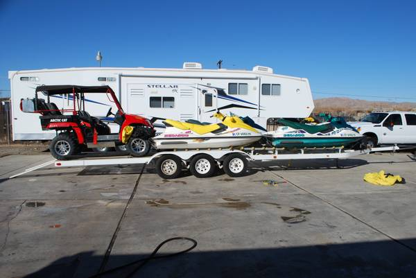 3 Place Pwc Trailer For Sale