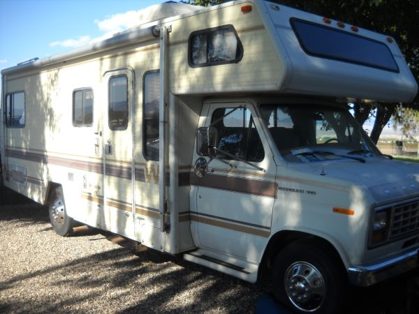 4x4 Class C Motorhome Espotted