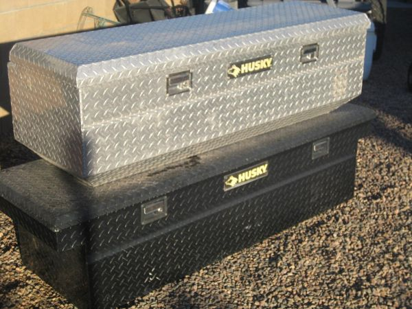 Husky Truck Tool Boxes Aluminum Espotted