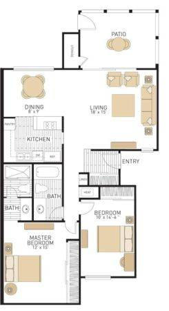 $550  1br - 250ftsup2 - Sublet at Newport Beach