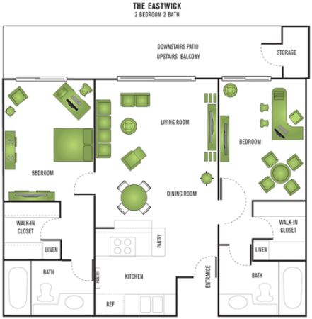 $1775  2br - 1100ftsup2 - Need to get Away Heres your home away from home (South Coast Metro)