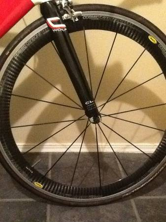 Mavic cosmic carbone premium wheelset trade (Long beach)