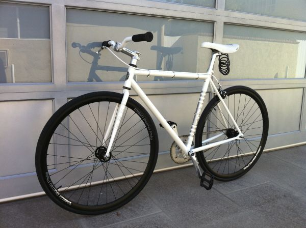 Single Speed Masi UNO Riser White 53cm Torelli Bormio Pista Wheelset $1078 - $500 (OCLA)