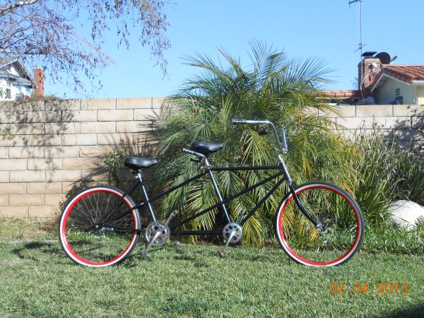 SCHWINN TANDEM BICYCLE BUILT FOR TWO 1964 $300 obo (OC)