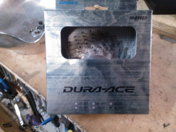 Dura ace 10 speed 12-27 Cassette - $150 (Cypress)
