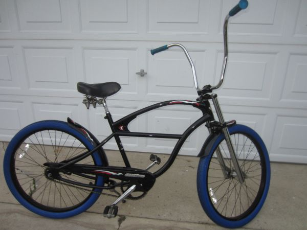 ELECTRA STREAM RIDE SERIES RAT ROD BEACH CRUISER W APE HANGERS - $260 (COSTA MESA)