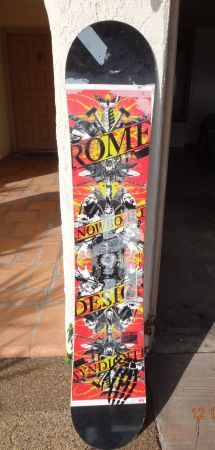 Rome Postermania Snowboard  - $20 (Orange )