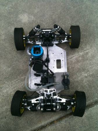 Rc car and rc car parts - $100 (Laguna hills)