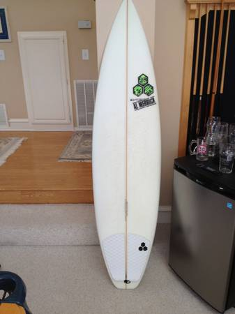 63 Channel Islands MBM 6 channel surfboard - $600 (Lake Forest)