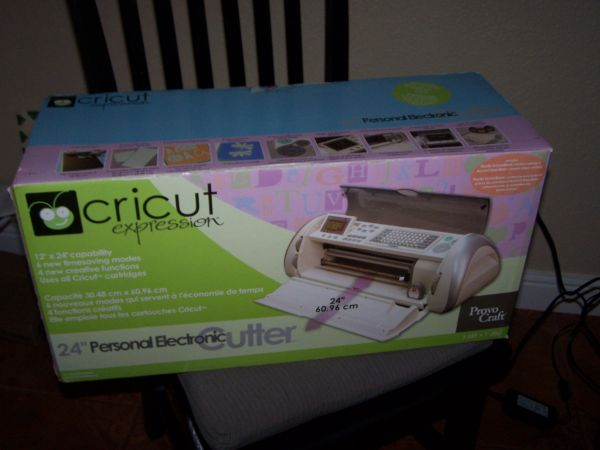 Cricut Expression Bundle with 3 cartridges - $200 (Riverside Cty)