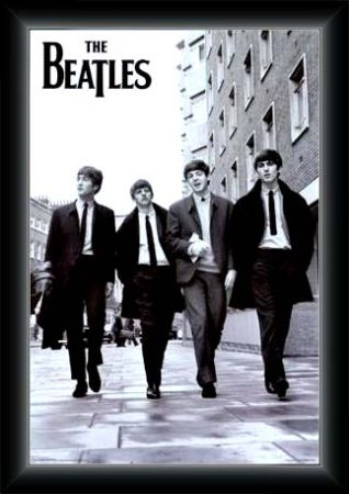 MUSIC LEGENDS (THE BEATLES) PICTIURE FRAMES ( (Huntington Beach))