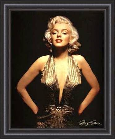 Very Hard to Find -- (MARILYN MONROE) Picture Frames - $38 (Huntington Beach)