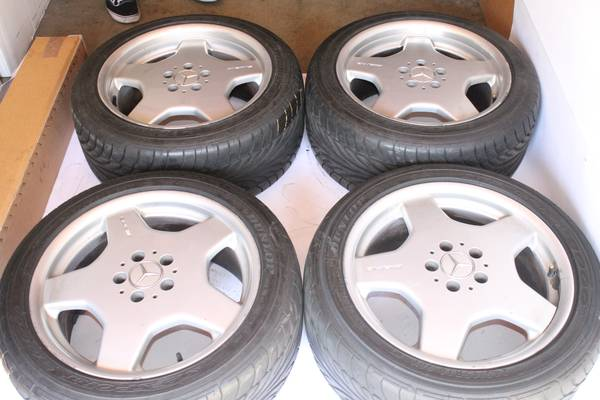 18 S Class AMG Wheels For Sale - $1200 (Huntington Beach)