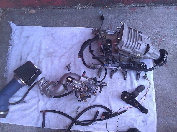 Jackson Racing Super charger for LS B16 B18 B20 retails $3000 - $1650 (Tustin)