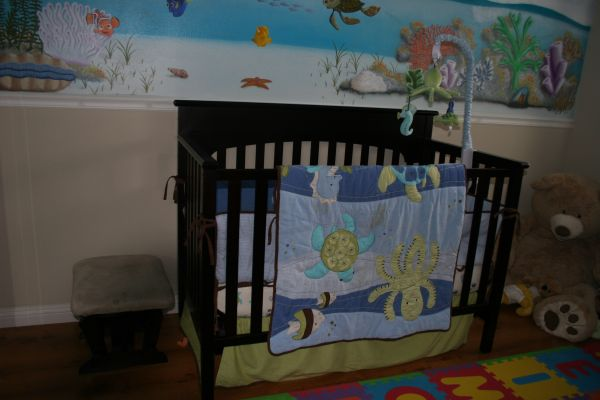 CRIB - Graco Lauren Signature Convertible (PRICE REDUCED) - $100 (North Huntington Beach)