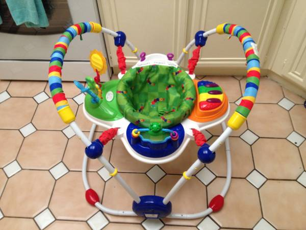 Baby Einstein Jumparoo Bouncer  FUN FUN FUN - $45 (Laguna Niguel)