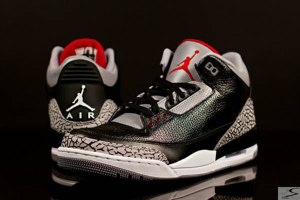 Black Cement 3s Size 7 Men or 6.5 Youth - $1 (Westminster)