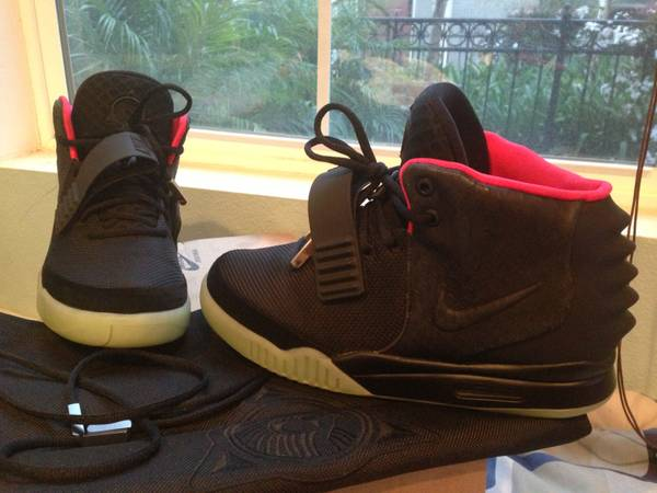 ----Authentic Nike Air Yeezy 2 Solar Red Sz. 10---- - $1750 (IrvineTustin)