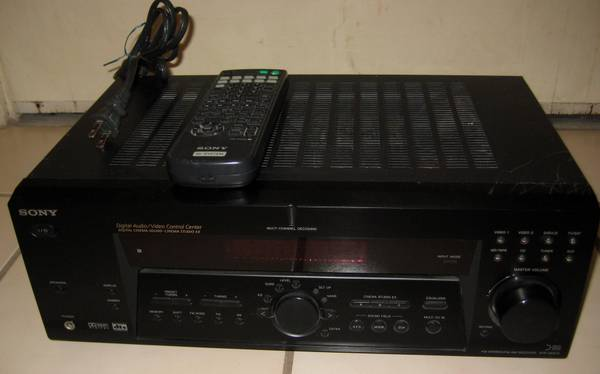 Sony Surround Digital Receiver AudioVideo Control Center Cinema Sound - $65 (Newport Beach, CA  92663)