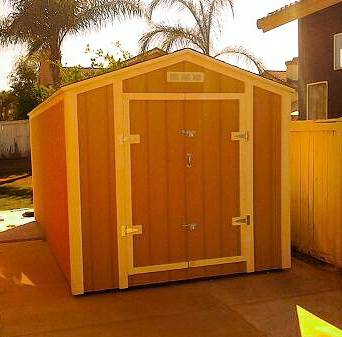 CUSTOM SHEDS Built on your property - $1600