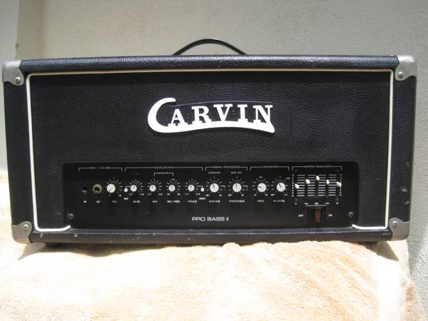 Carvin PB 300 Pro BASS II AMP -  - $125 (South OC)