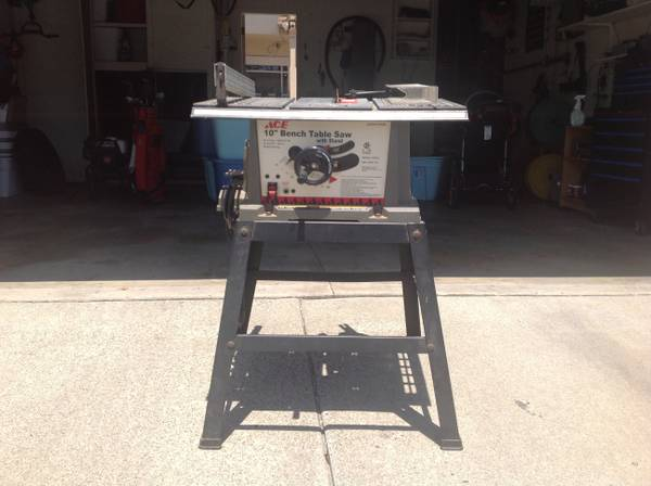 "Volvo Of Orange County >> Ace Hardware Ace 10"" Bench Table Saw with Stand - $45 ..."