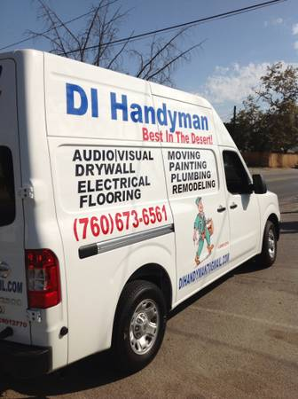 We Will Removed Your Old Appliances For Free call us DI Handyman (All Palms Spring Areas)