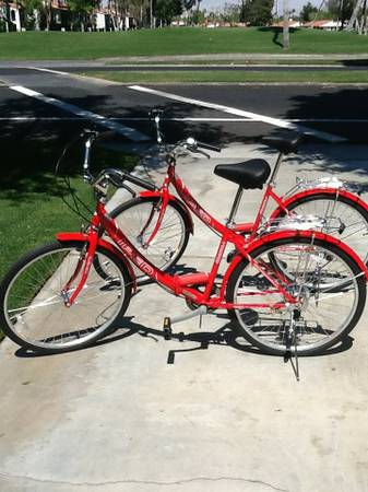 26 inch folding IPED Bike (2 bikes) New - $75 (Rancho Mirage)