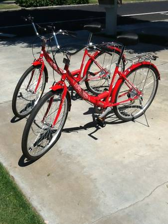 Folding IPED Bike 26 inch tires (2 bikes) New  - $75 (Rancho Mirage)