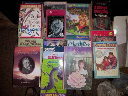 20 books ages 4 and up - $10 (thermal)