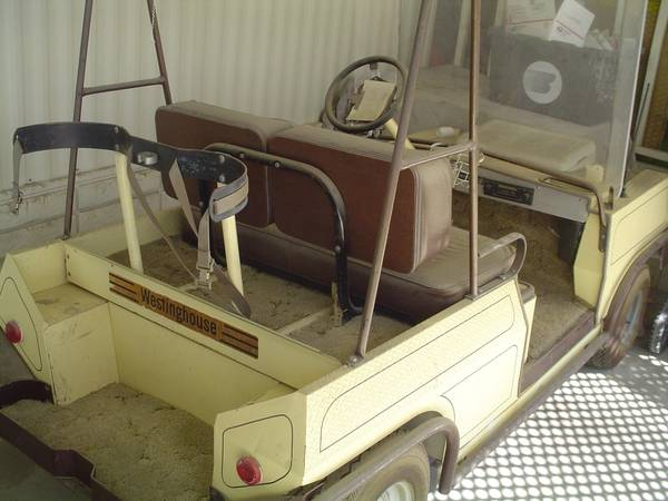 WESTINGHOUSE GOLF CART - $195 (thousand palms)