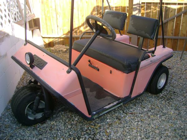Three wheel EZ-GO golf cart - $200 (Palm Springs, Ca. 92264)