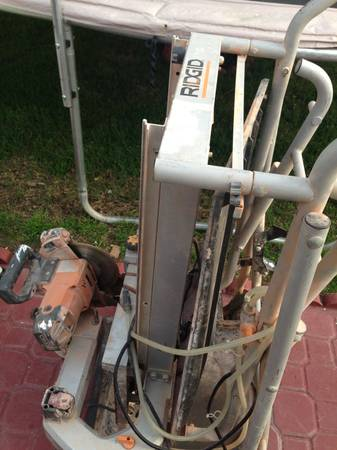 RIDGID 7 in. Portable Tile Saw with Laser - $225 (HEMET)