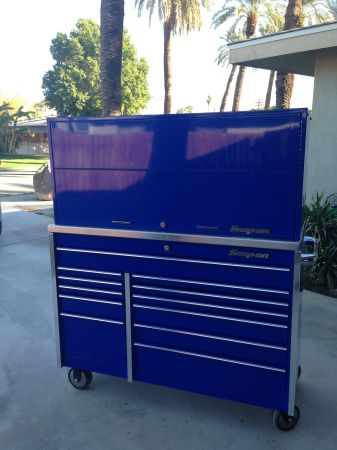 Great Deal on Snap-On Roll Cab, Riser  Work Top - $3500 (Indio)