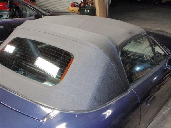 New Miata Top W Glass Window -INSTALLED - $730 (Lemon Grove)