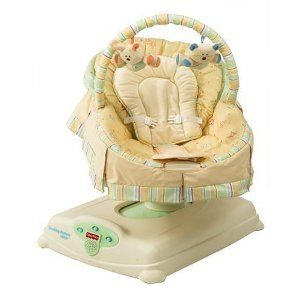Fisher Price Soothing Motions Glider Baby Infant Sleep Cradle Songs Mu - $75 (PALM DESERT)