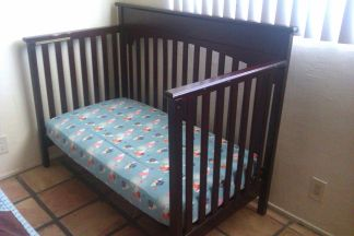 Graco Lauren convertible crib - $50 (Cathedral City)