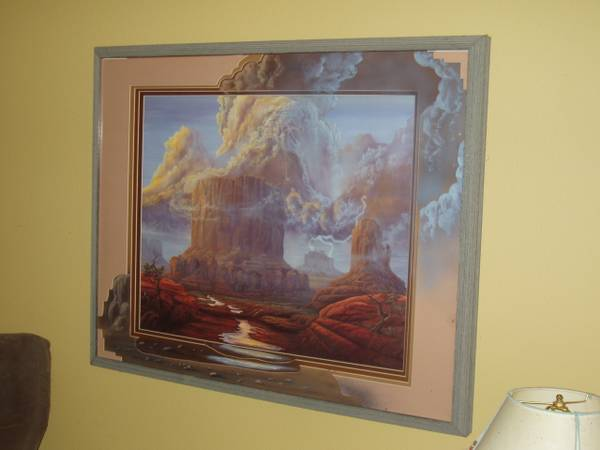 Rod Bearcloud Berry Framed Lithograph - $1050 (Palm Desert)