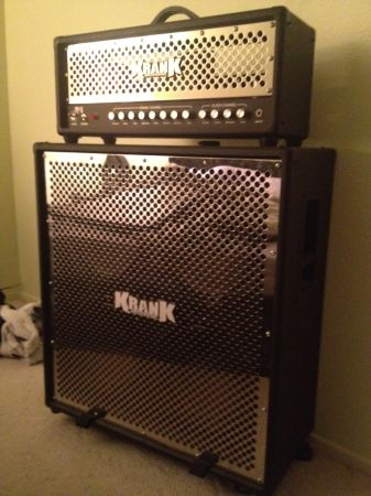 Krank Rev1 Guitar Amp Half Stack W Crhome Grill - $1200 (Banning, CA)
