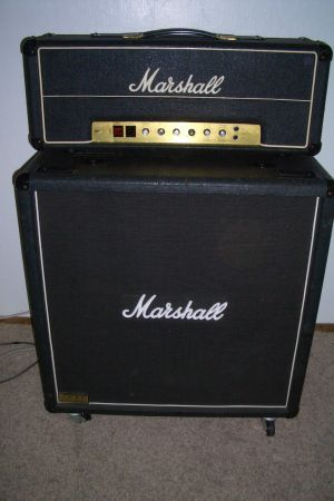 Marshall JMP MK2 Master Model 100w Lead w JCM 800 1552 Bass Cabinet - $1500 (Palm Springs)