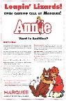 THURSDAY  JULY 18TH - 18  amp  UNDER AUDITIONS FOR ANNIE   PALM SPRINGS