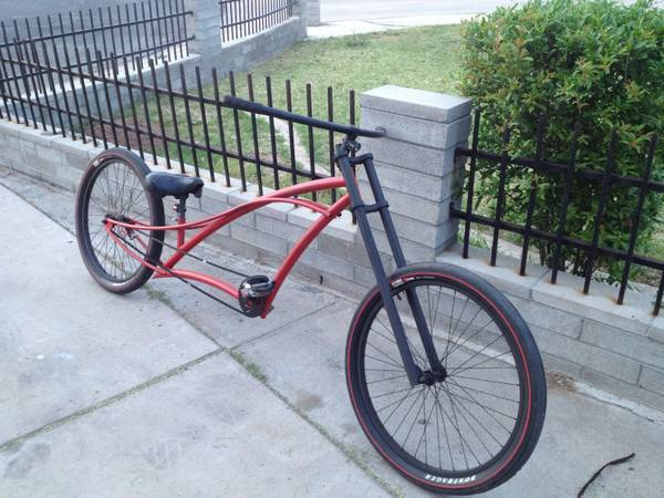 Stretched, long beach Cruiser - $400 (Mesa)