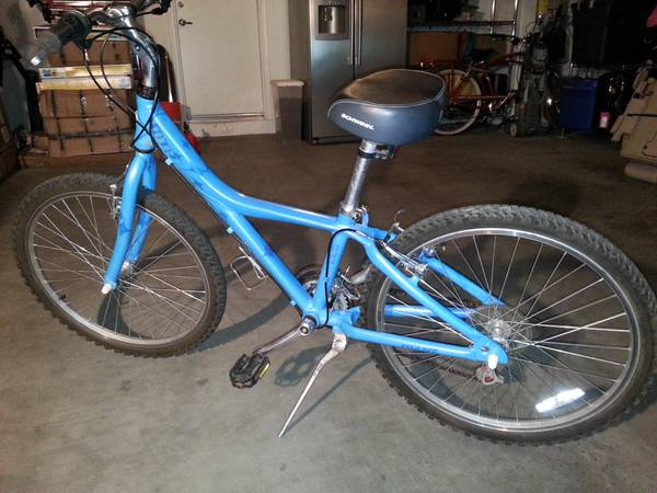 Girls Giant MTX 225 mountain bike, 12 frame, 24 wheels - $60 (101  Cave Creek)
